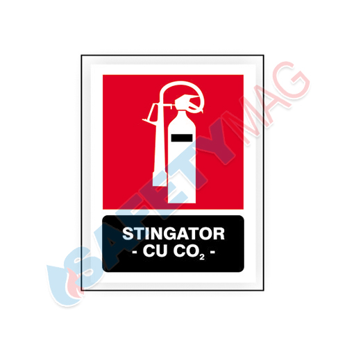 Stingator cu CO2