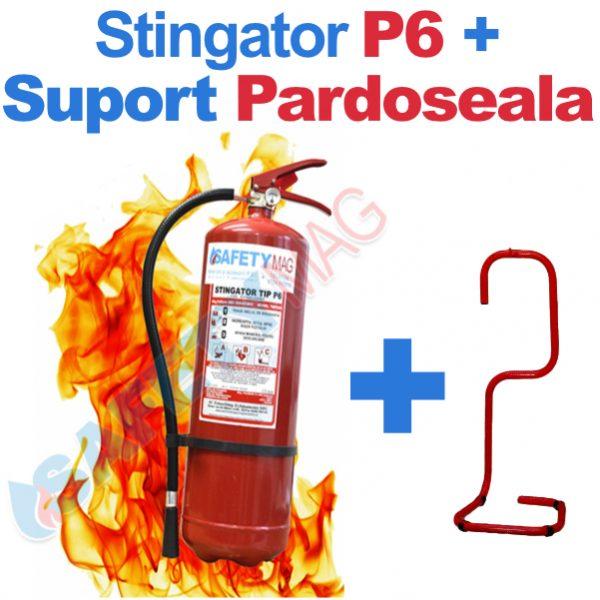stingator P6 + suport pardoseala